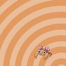 Pokemon - Paras Circles iPad Case by Aaron Campbell