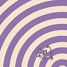 Pokemon - Rattata Circles iPad Case by Aaron Campbell