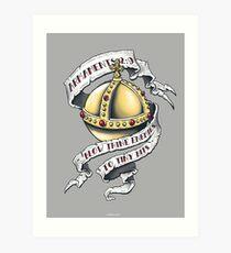 The Holy Hand Grenade Art Print