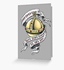 The Holy Hand Grenade Greeting Card