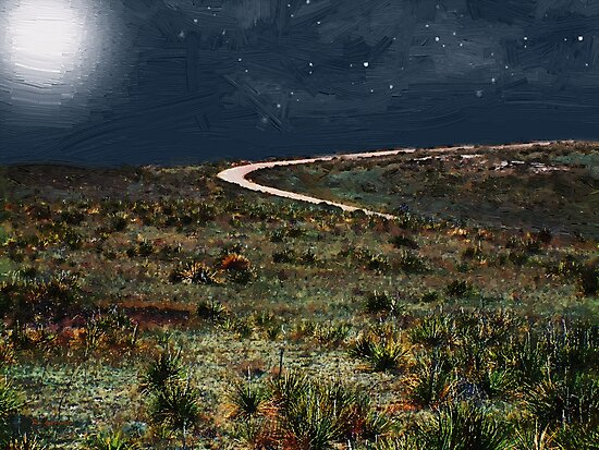 High Desert Curve by RC deWinter