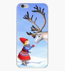 Reindeer Girl iPhone Case