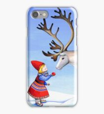 Reindeer Girl iPhone Case/Skin