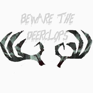 Beware the Deerclops by bitchfacesam