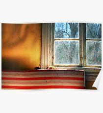 1.5.2013: Window, Matress and Light Poster