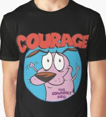 Courage Icon Graphic T-Shirt