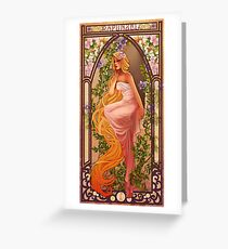 Rapunzel Greeting Card