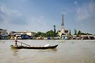 Vietnam: Cái Bè on the Mekong by Kasia-D