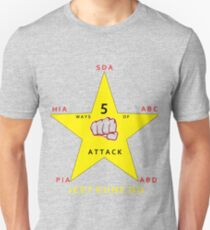 JKD 5 ways of Attack JKD T-Shirt