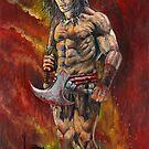 Conan the Barbarian by Wayne Dowsent