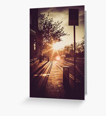 Dublin streets Greeting Card