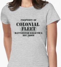 Colonial Fleet Battlestar Galactica Rec. Room T-Shirt