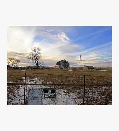 Rural Relics Photographic Print