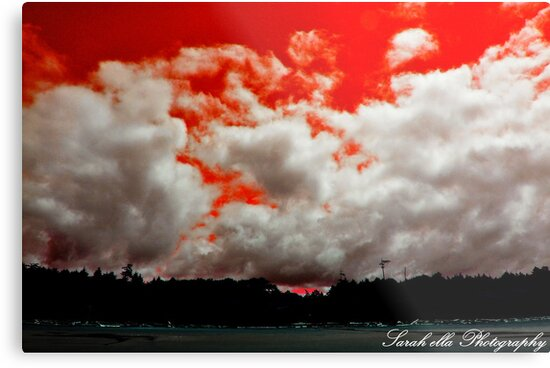 Red Sky  by Sarah Ella Jonason