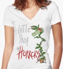 Little Shop of Horrors Women's Fitted V-Neck T-Shirt