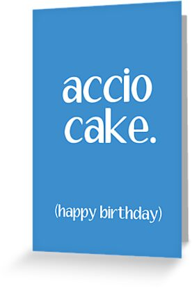Accio Cake 2 by writerfolk