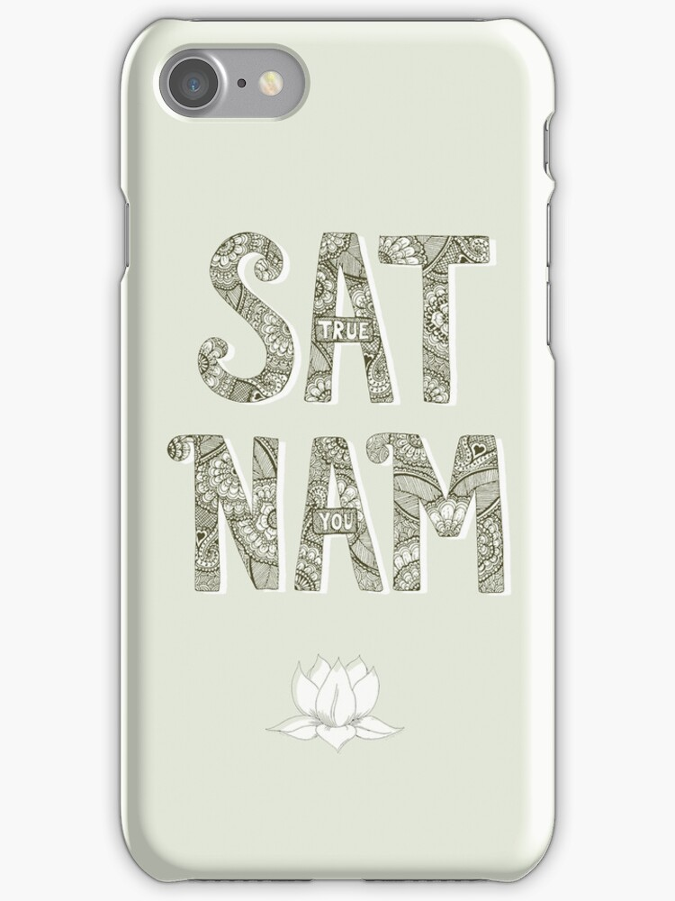 Sat Nam (Truth is your Identity) by mindfullymade