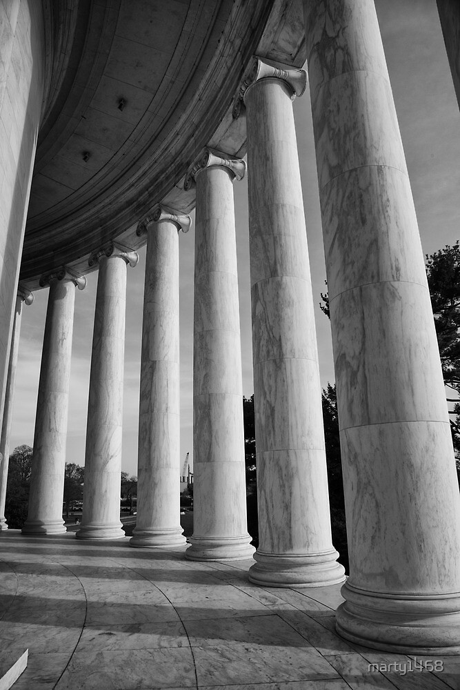 Jefferson Columns by marty1468