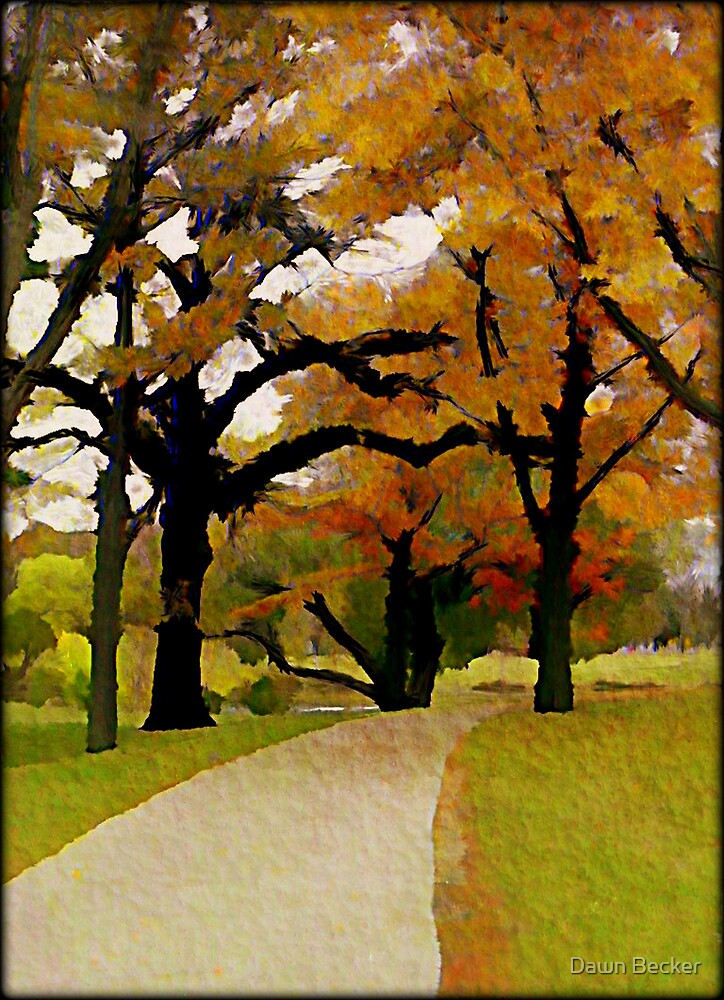 Walk with me © by Dawn Becker