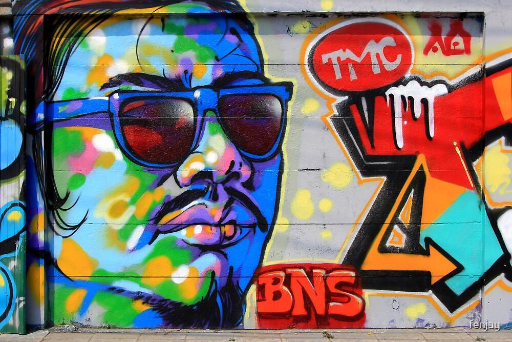 Street Art: global edition # 64 by fenjay