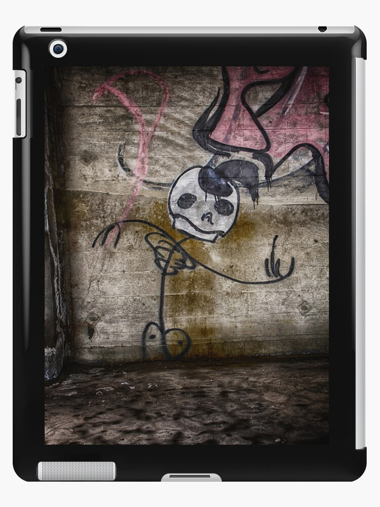 Graffiti Dancing Skeleton by Dan  Wampler