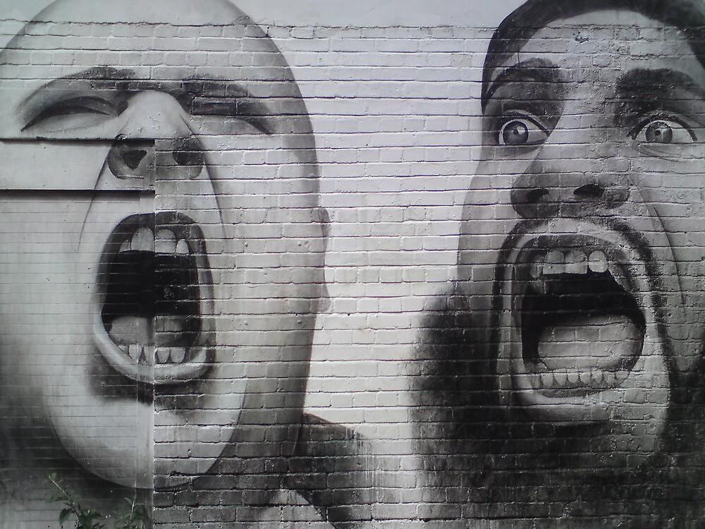 Fundamentally Street Art by ravishlondon