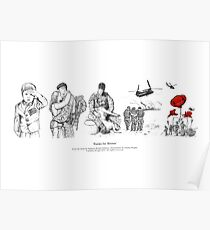 Poems For Heroes Poster