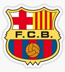FC Barcelona Retro Sticker