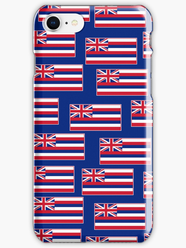 Smartphone Case - State Flag of Hawaii  - Blue by Mark Podger