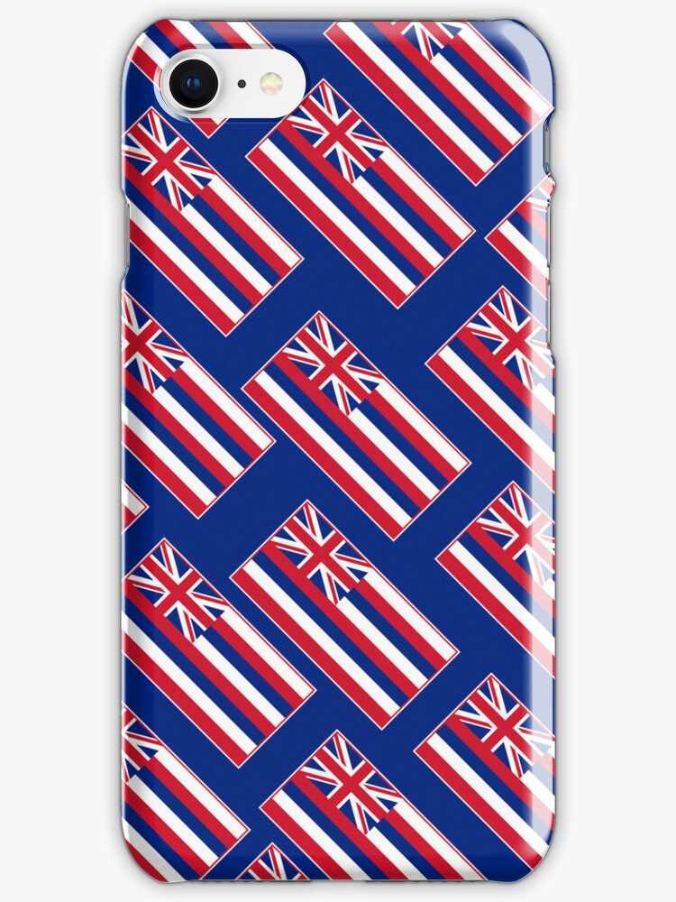 Smartphone Case - State Flag of Hawaii  - Blue Diagonal by Mark Podger