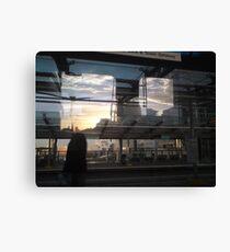 DLR - Docklands Light Refractions Canvas Print