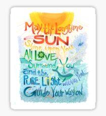 Long Time Sun Sticker