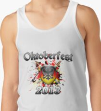 Oktoberfest Coat Of Arms 2013 Tank Top