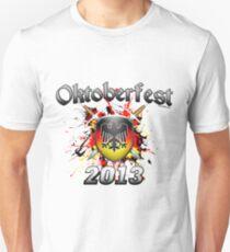 Oktoberfest Coat Of Arms 2013 Slim Fit T-Shirt