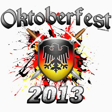 Oktoberfest Coat Of Arms 2013 by Oktobeer