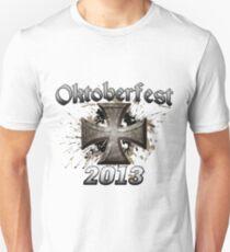 Oktoberfest Iron Cross 2013 Slim Fit T-Shirt