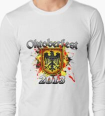 Oktoberfest Eagle Shield 2013 Long Sleeve T-Shirt