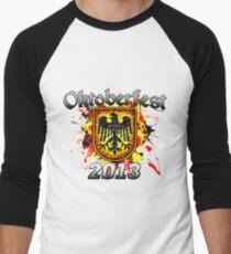 Oktoberfest Eagle Shield 2013 Men's Baseball ¾ T-Shirt
