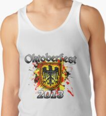 Oktoberfest Eagle Shield 2013 Tank Top