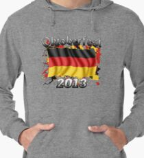 Oktoberfest German Flag 2013 Lightweight Hoodie