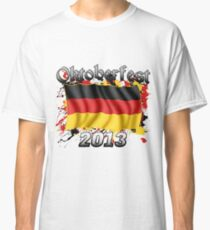 Oktoberfest German Flag 2013 Classic T-Shirt