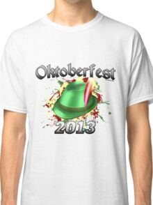 Oktoberfest German Hat 2013 Classic T-Shirt