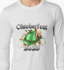 Oktoberfest German Hat 2013 Long Sleeve T-Shirt