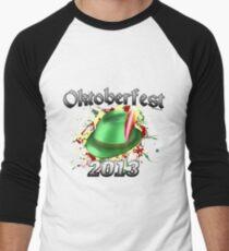 Oktoberfest German Hat 2013 Men's Baseball ¾ T-Shirt