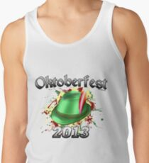 Oktoberfest German Hat 2013 Tank Top