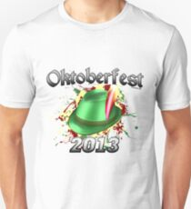 Oktoberfest German Hat 2013 Unisex T-Shirt