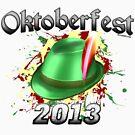 Oktoberfest German Hat 2013 by Oktobeer