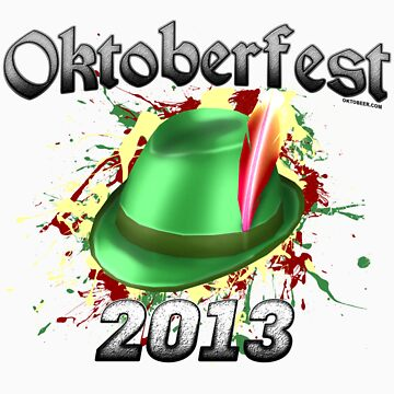 Oktoberfest German Hat 2013 by Oktobeer