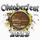 Oktoberfest Keg 2013 by Oktobeer