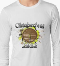 Oktoberfest Keg 2013 Long Sleeve T-Shirt